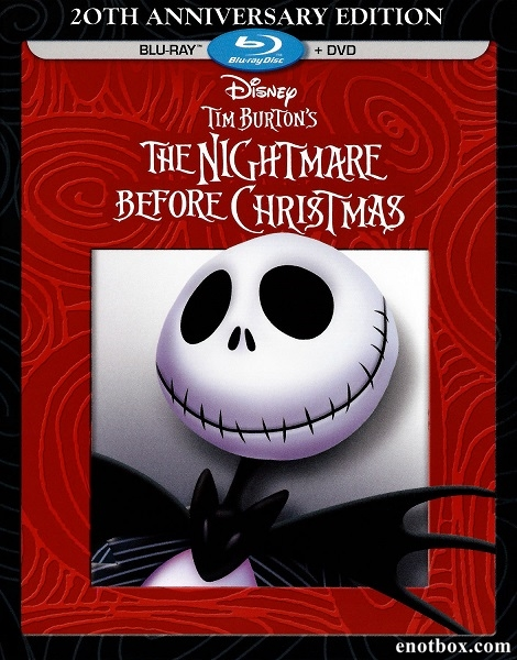 Кошмар перед Рождеством / The Nightmare Before Christmas (1993/BDRip/HDRip/3D)