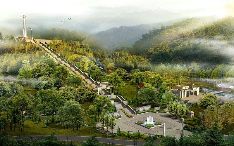 Красивые китайские пейзажи. Фотографии природы Китая, похожей на картины 0 1c4d4a 5416906d XL