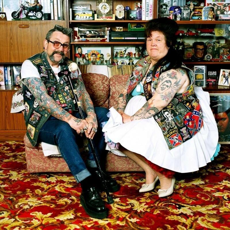 Мик и Пэгги Варнер. Лондонские панки из 1970-х. До сих пор счастливы вместе.