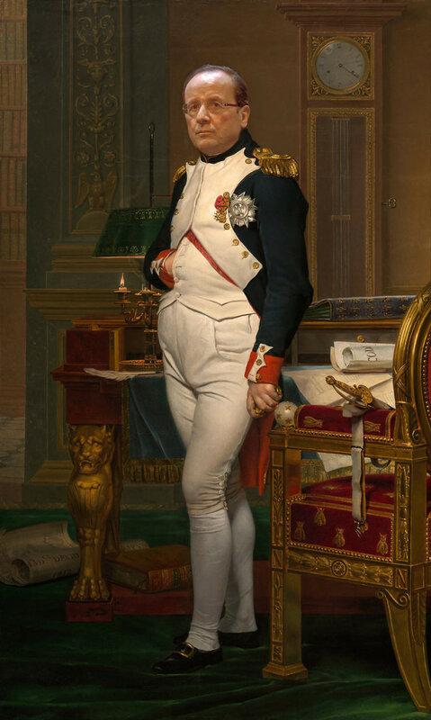 Франсуа Олланд - или Наполеон Бонапарт?