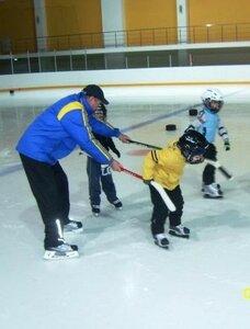 Тренировка тренера Лохматова с самыми маленькими-2007 г.р.