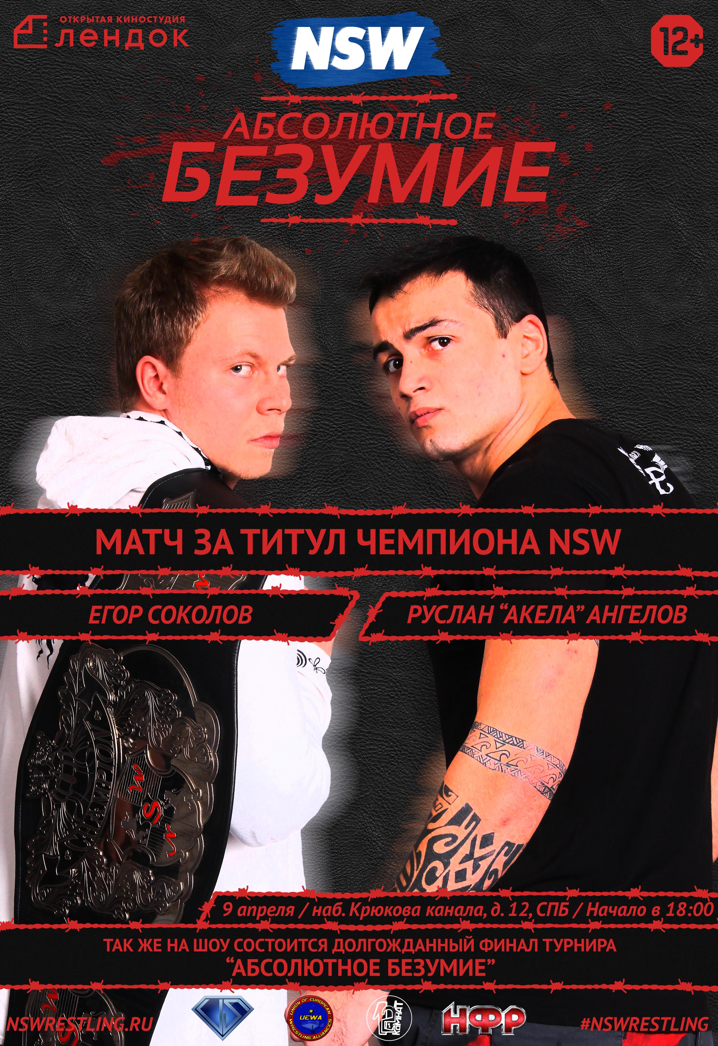 Постер NSW Абсолютное Безумие 2016