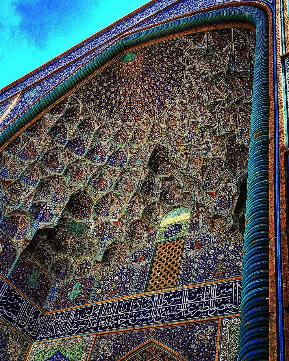 Sheikh Lotfollah mosque in Esfahan,Iran, about 400 years old