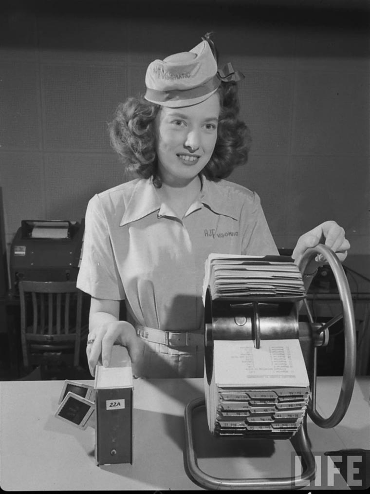 Vis-O-Matic - When an entrepreneur was imagining online shopping in 1950