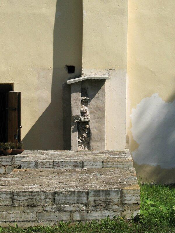 Фрагменты притвора, Староладожский Успенский монастырь