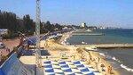 """Скриншот: Феодосия, пляж """"Камешки"""", 5 августа 2014г."""