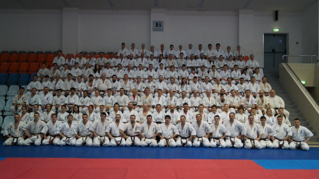 Зимняя школа Федерации кекусин-кан 2016