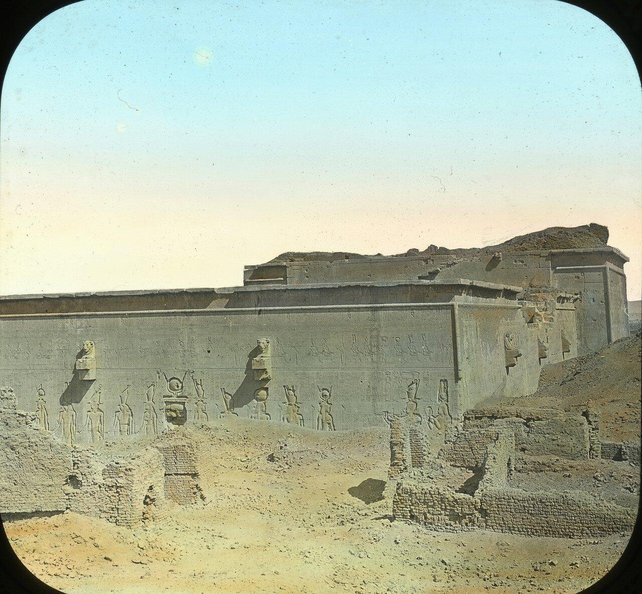 1925. Задняя сторона храма