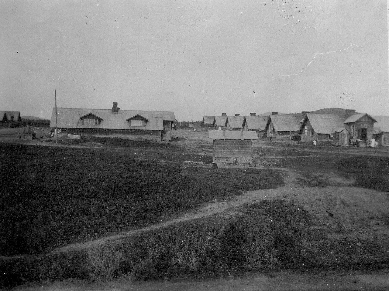 Поселок в долине Первой речки
