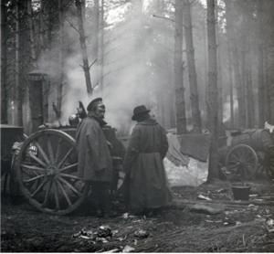 27. 1914. Полевая кухня Гроховского полка. Ястковица, Галиция