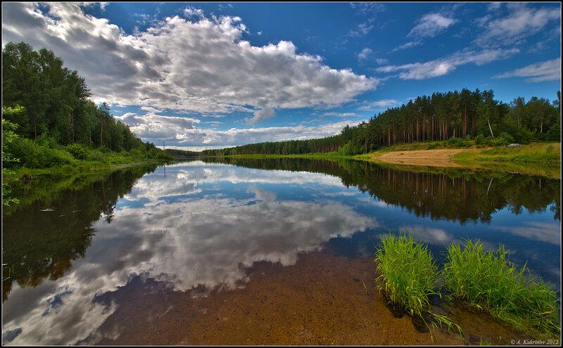 Июльское озеро