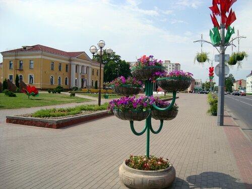 В центре Слуцка