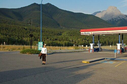 По бескрайним дорогам Канады... Скалистые горы.