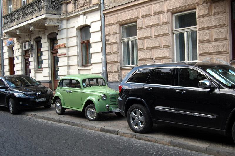 На улице Щербакова
