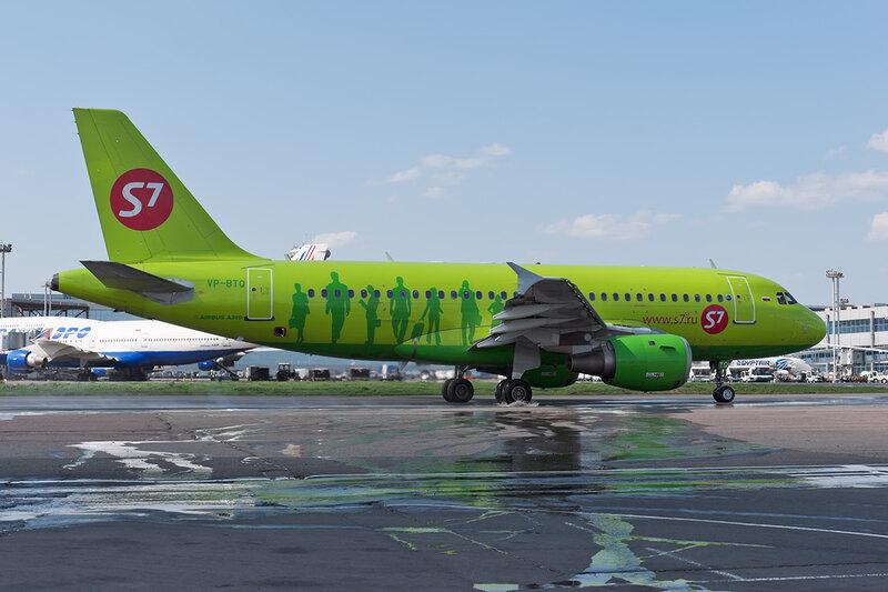 Airbus A319-114 (VP-BTQ) S7 DSC_0042