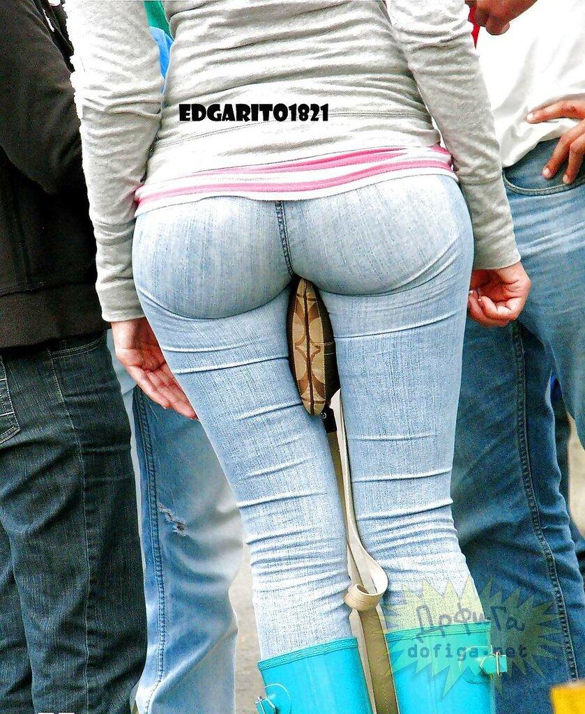 Фото девочек в джинсах 20 фотография