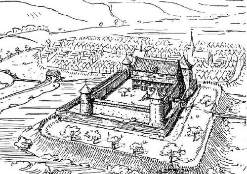 Реконструкция замка