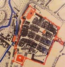 План укреплений Растенбурга