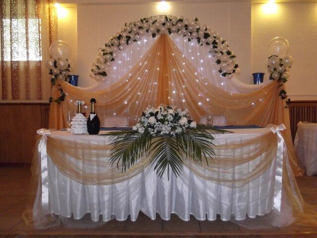 Украшение зала на свадьбу в Абакане, свадебное оформление - 16 оформителей