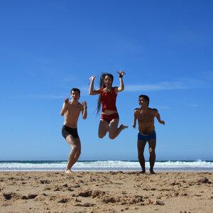 На атлантическом побережье в Португалии