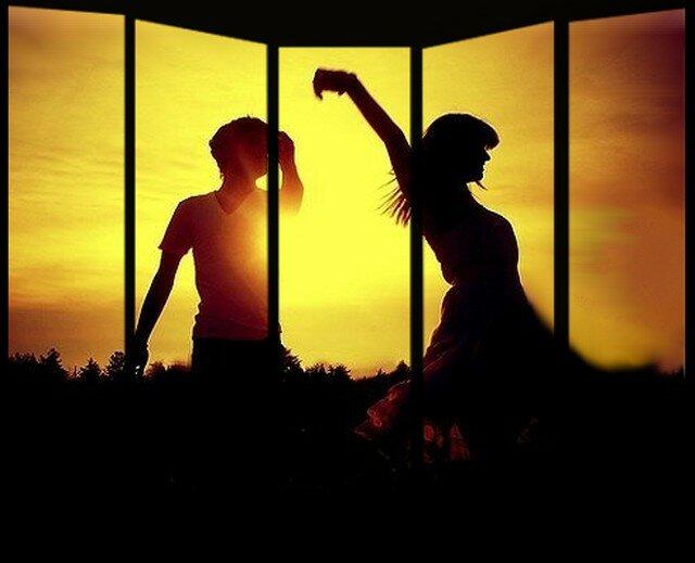 Dance in sunset....Desert.69