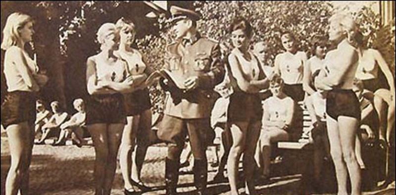 Секс в немецких казармах третьего рейха