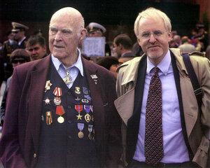 Байерли с сыном, послом США в России.