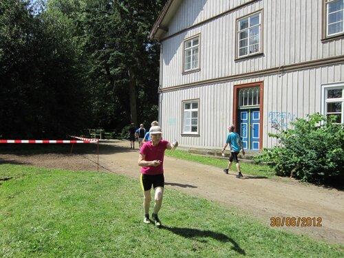 Тренировка перед спринтом