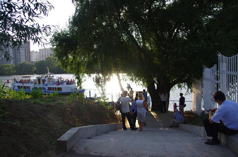 Переправа Крокус-Сити - Павшино