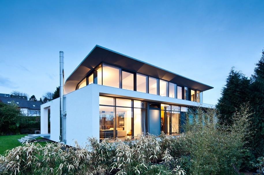Отточенные линии C1 House в Карлсруэ, Германия