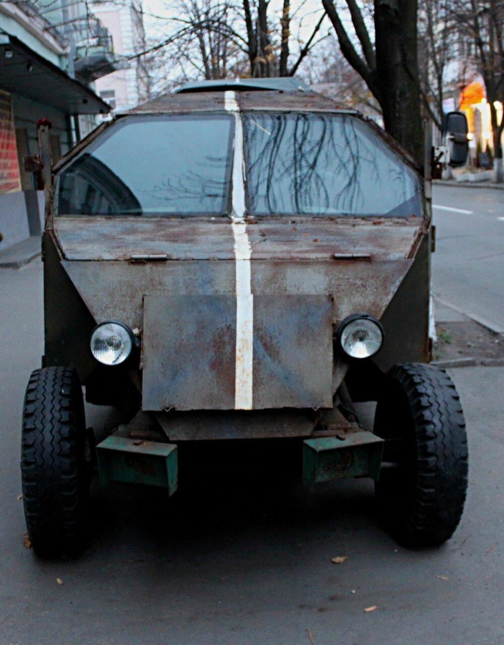 Дизайн бронеавтомобиля Кузнечик