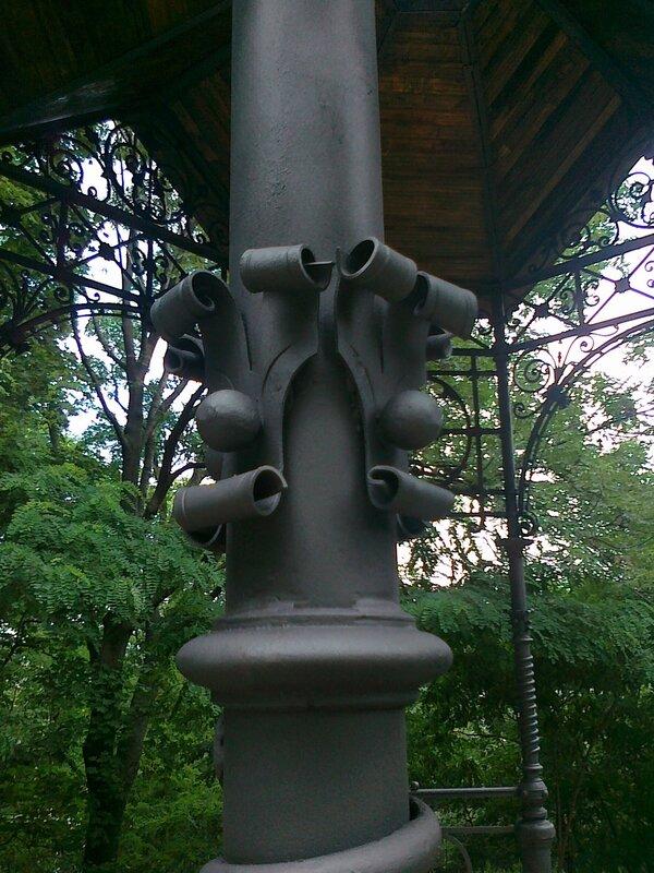 Элементы декора Кокоревской альтанки