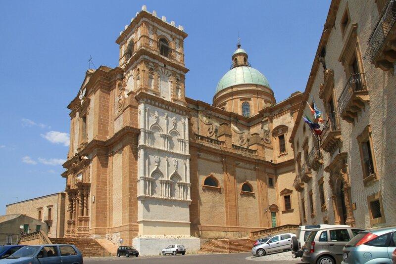 Сицилия, Пьяцца Армерина, Кафедральный Собор