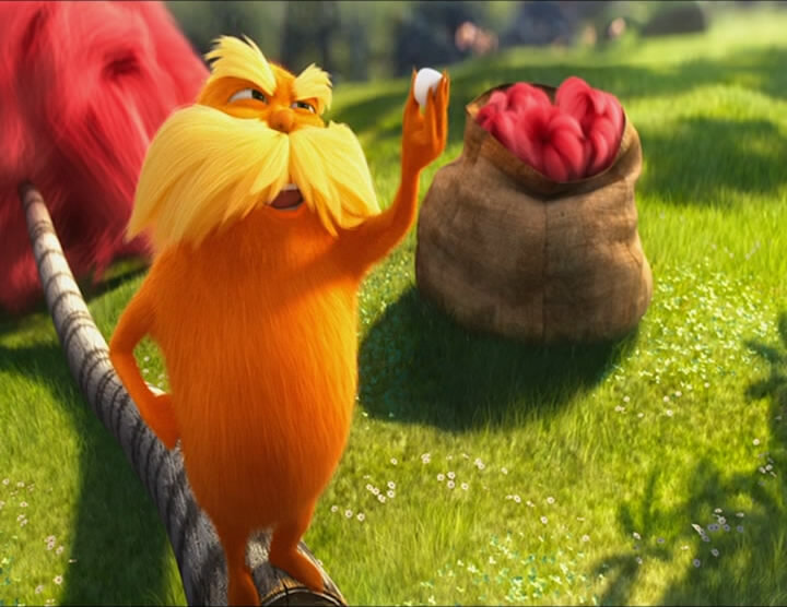 Лоракс / Dr. Seuss' The Lorax (2012) DVDRip-AVC | Чистый звук  1.5 Гб