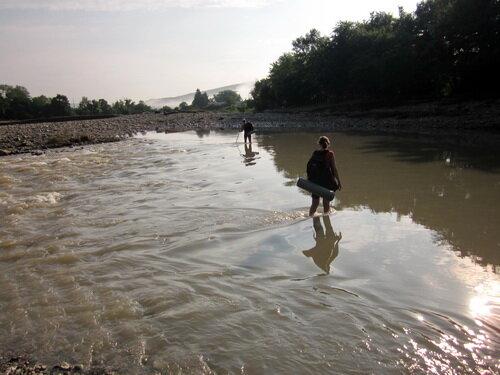 Шапсугская. Река