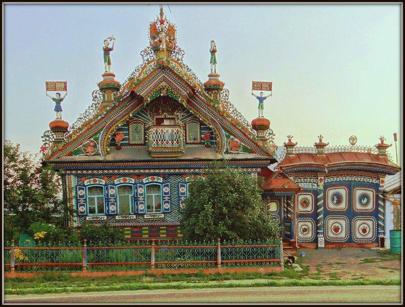 Дом уральского кузнеца Кириллова в Кунаре
