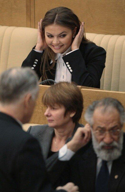 Прикольные фотографии из Госдумы (11 фото)