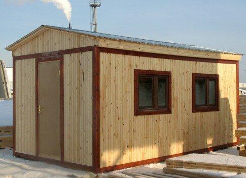 Бытовки дачные или строительные это небольшие помещения, которые напоминают по форме и габаритам контейнер.