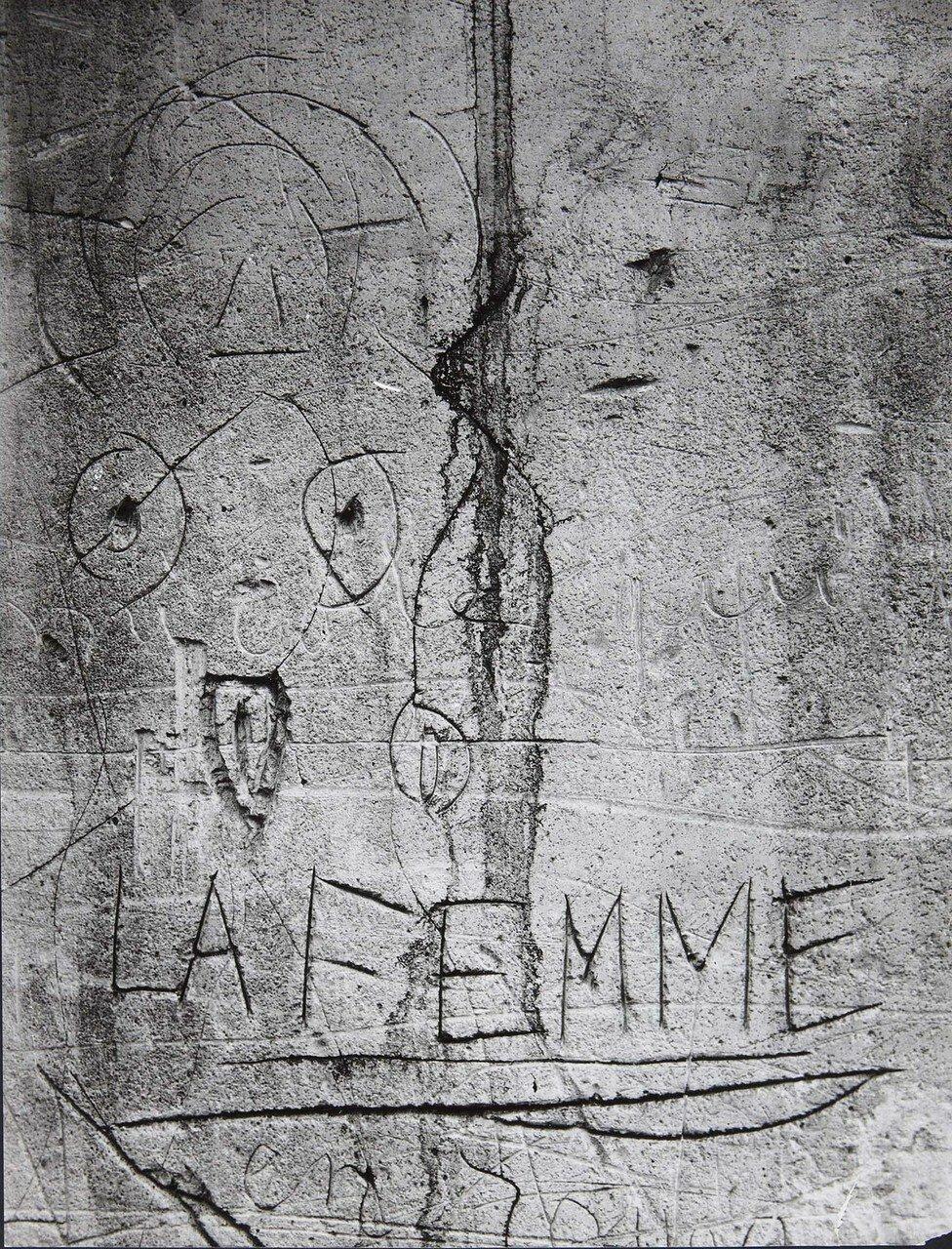1930. Граффити. Серия VI Любовь