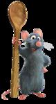 крыс повар