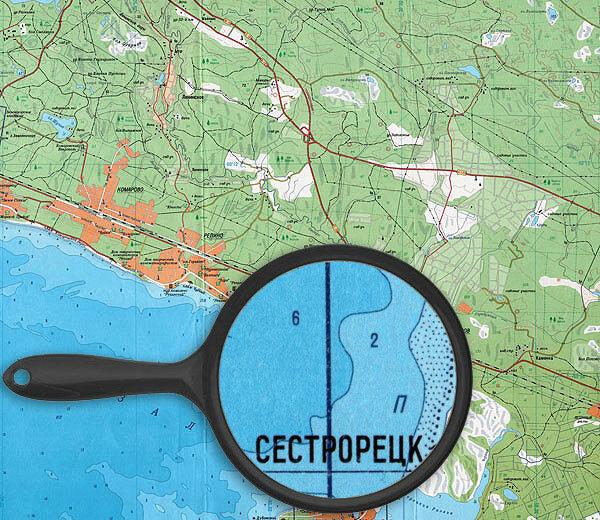 От Сестрорецка до Зеленогорска - прибрежная часть Финского залива