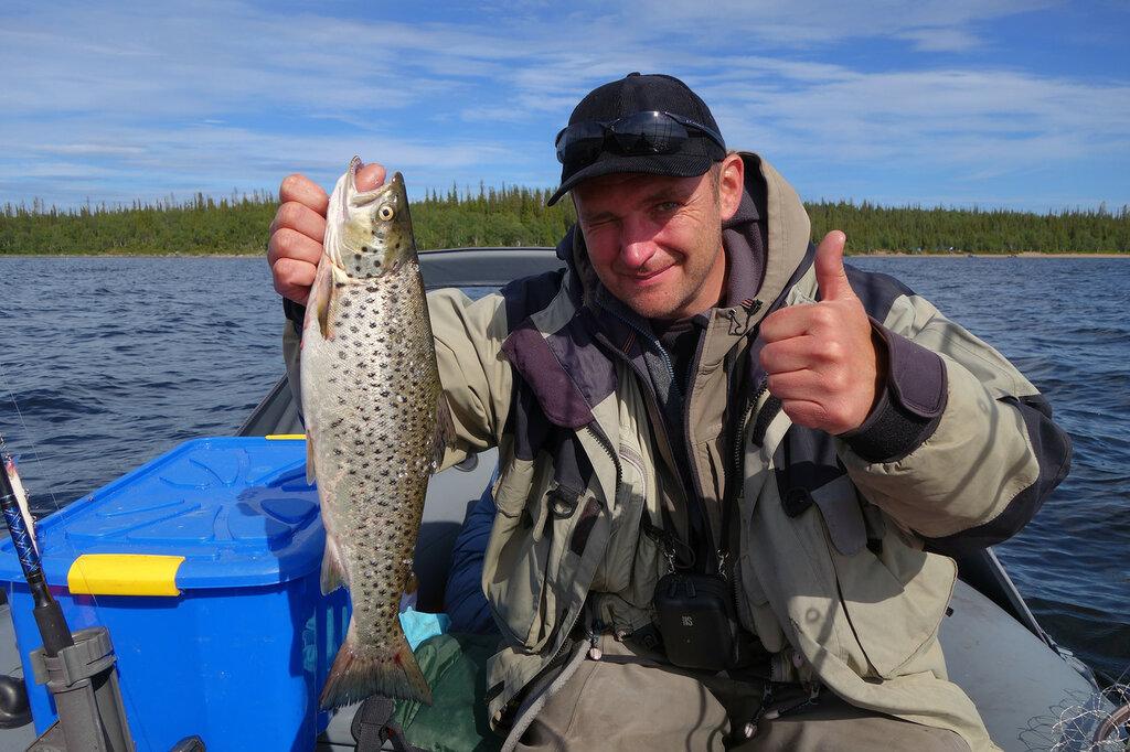 рыбалка на кольском фото