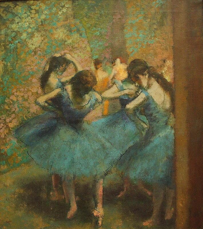 «Голубы́е танцо́вщицы» (фр. Danseuses bleues)