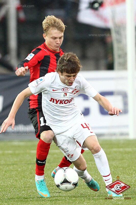 «Амкар» vs «Спартак» 1:3 Премьер-лига 2012-2013 (Фото)