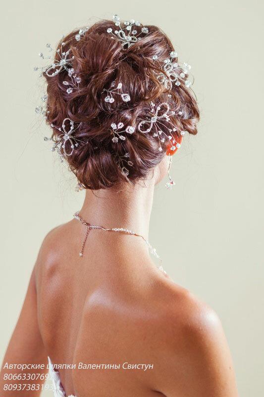Свадебные головные уборы - Шпильки в прическу.