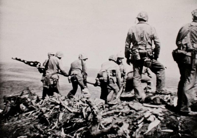 Iwo Jima Marine