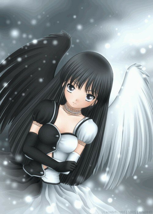 ангел черно белая картинка.