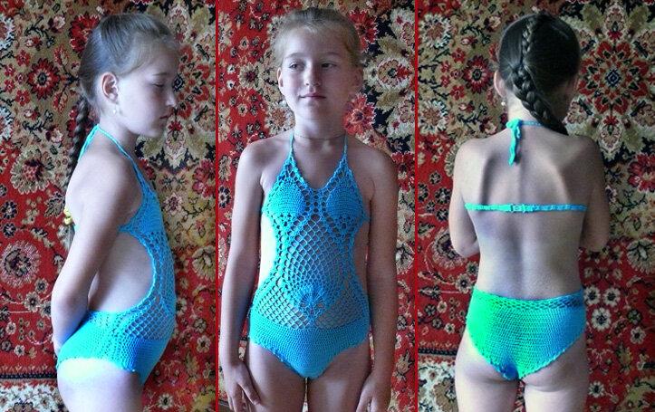 фото купальники для девочек для 10 лет