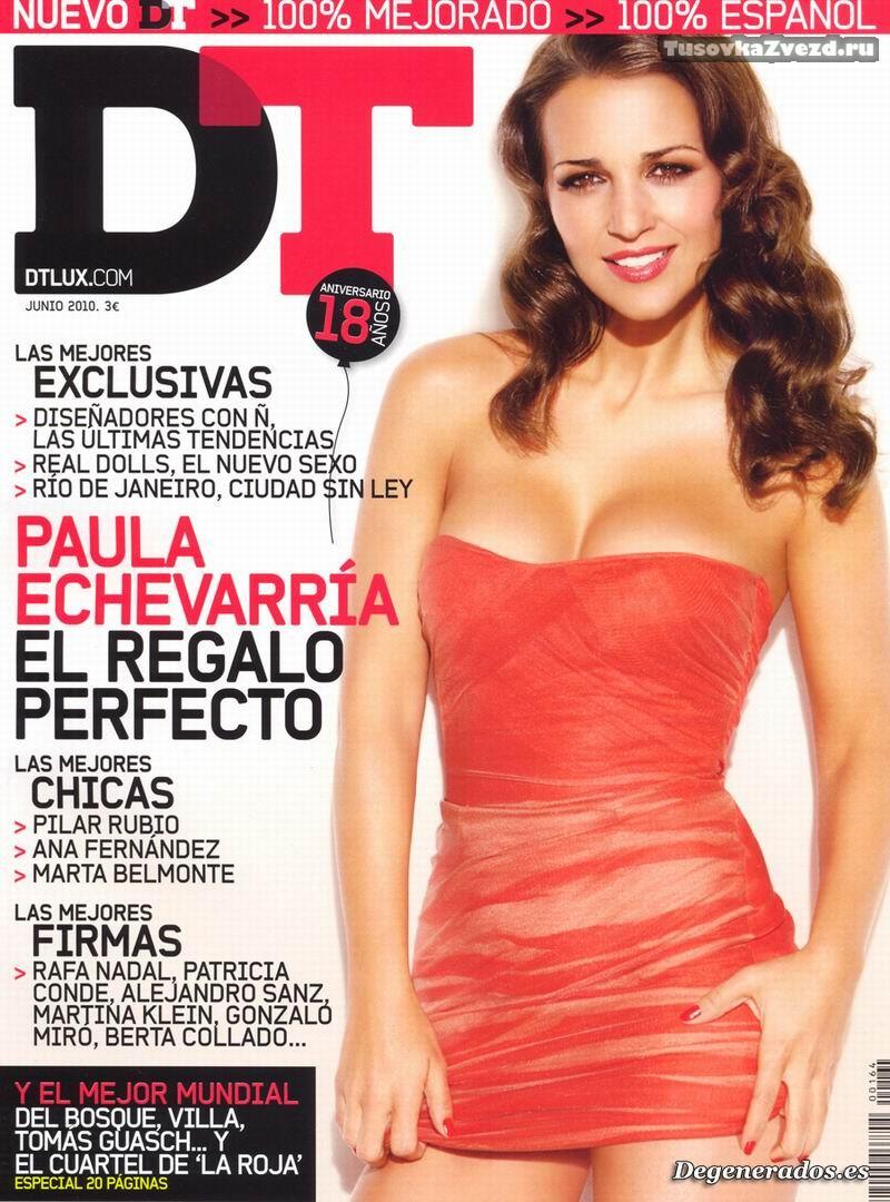 Паула Эчеваррия (Paula Echevarria) эротическая фото сессия для журнала DT Испания, июнь 2010