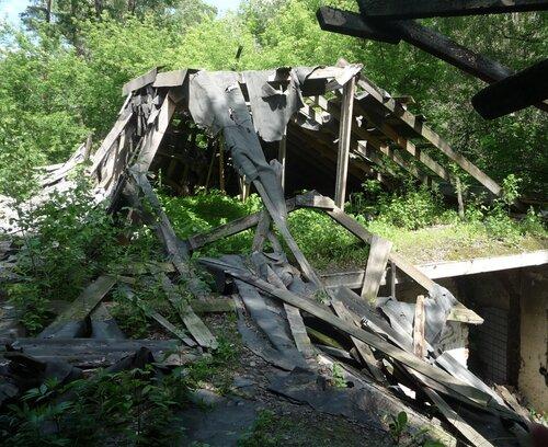 Заброшенный детский сад города Воскресенска